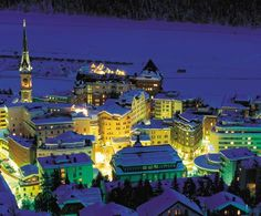 St. Moritz, I would love to go there!