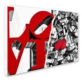 Found it at Wayfair - Love by Philippe Hugonnard Graphic Art on Wrapped Canvas