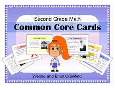 For 2nd grade - Math Common Core Task Cards $