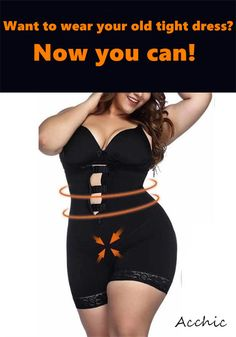ON SALE & HOT SALE! Full $45+ Get 5% OFF Code: 5OFF Want to wear your old tight dress? Now you can. Perfect Curves Body Shapewear molds your body to an amazing fit and hides discreetly under any outfit Body Girdle, Perfect Curves, Knit Hats, Hourglass Figure, Plus Size Fashion For Women, Bra Lingerie, Tight Dresses, Shapewear, Clothing Ideas