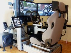 racing simulator chair hydraulic uk irish pub chairs diy cockpit | a pinterest collection by ronald ter veen ...