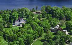 palacio de Haga, aquí viven Victoria y Daniel de Suecia