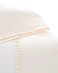 """""""Classic+Ruffle""""+Sheet+Sets+by+Pine+Cone+Hill+at+Neiman+Marcus."""