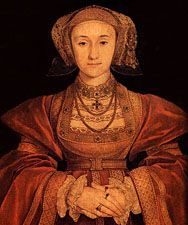 Anne of Cleves.  Wife #4 to King Henry VIII.  Their marriage was dissolved after only six month.