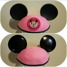 Disney mickey ears hat Minnie pink youth size