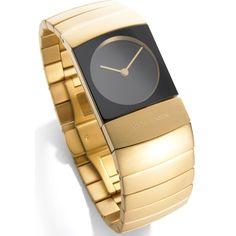Arc Watch Women Titanium, Gold at $999.99  http://www.bboescape.com/products/buy/572/watches/Arc-Watch-Women-Titanium-Gold