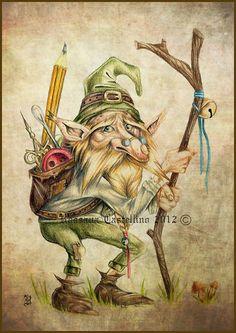 Rupert - Gnome by r-castellino.. [Rossana Castellino]
