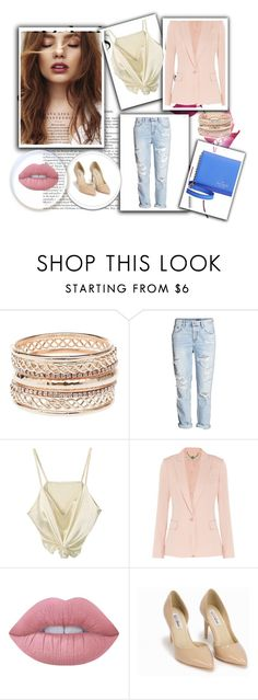 Джинсы by pr-kino on Polyvore featuring мода, STELLA McCARTNEY, Nly Shoes, Kate Spade, Charlotte Russe and Lime Crime