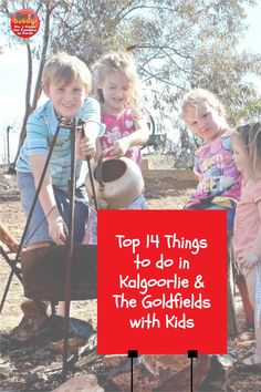 Planning an epic West Aussie road trip? Why not head to the glorious Goldfields, in Australia's Golden Outback, for a completely different family experience! The Goldfields region, found about 6 hours drive east from Perth, is an area rich in history and culture. There's so much to see and do in Kalgoorlie and The Goldfields with kids. Here's just some ideas to explore the Goldfields with your little adventurers. #perth #perthkids