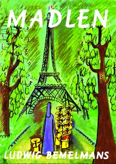This is a read-aloud of the children's book Madeline, written by Ludwig Bemelmans. In this story, little Madeline has her appendix removed. I Love Books, Great Books, Books To Read, My Books, Madeline Book, Ludwig Bemelmans, Little Paris, Preschool Books, Book Girl