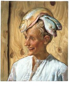 john currin. Oh my gosh! Just when I give up on finding more great weird fish art something like this comes up. Love it. Thanks Suzan.