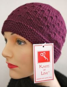 I love the texture on this hat, called the Occasional Cap. This is a free pattern from Knots of Love, a charity that distributes hat for patients undergoing chemotherapy and facing life-threatening illnesses. knotsoflove.org . One of their recommended yarns is Berroco Comfort http://metaphoryarns.com/category/h3Comfort-Worstedh3/0001/page1
