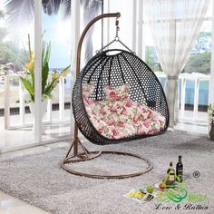 Super Cool And Comfy Hanging Chairs For Bedroom : Highly Unique And Personalized Hanging Chairs Serve As Comfy Chairs For Bedroom For More Fun Rooms' Ambience And Atmosphere