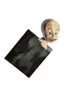 Bordados em placas de raio-x por Matthew Cox;