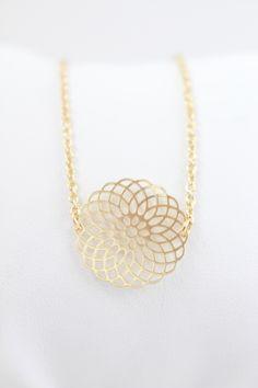 Bohemian Halskette Gold