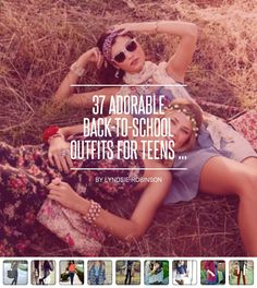 37 #Adorable Back-to-School Outfits for Teens ... - #Fashion