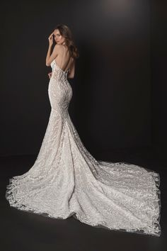 Klienfeld Wedding Dresses, Satin Mermaid Wedding Dress, Illusion Neckline Wedding Dress, Wedding Dresses With Straps, Fit And Flare Wedding Dress, Illusion Dress, Gorgeous Wedding Dress, Bridal Lace, Elegant Dresses