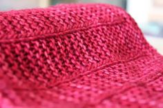 """The latest of the baby blanket called """"Sweet Valentine"""" due to this vibrant Raspberry Sorbet color you want literally munch on. This time I..."""
