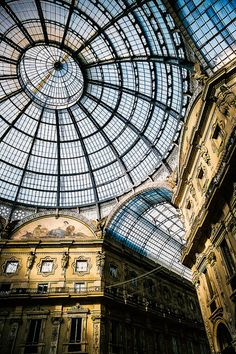 Milan Galleria skylight