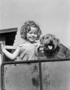 Shirley Temple and her friend, Photobucket