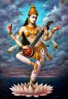 There are four main sects within Hinduism: Shaivism, Vaishnavism, Shaktism, Smartism, in which six main gods are worshiped Saraswati Goddess, Kali Goddess, Indian Goddess, Lord Krishna Wallpapers, Outline Art, Indian Art Paintings, Cartoon Girl Drawing, India Art, Digital Art Girl