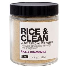The Rice & Clean Gentle Cleanser from Plant Apothecary is contains a time honoured ingredient for smooth skin from Japan. Gentle Facial Cleanser, Facial Cleansers, Face Cleanser, Organic Skin Care, Natural Skin Care, Natural Glow, Natural Beauty, Au Natural, Organic Beauty