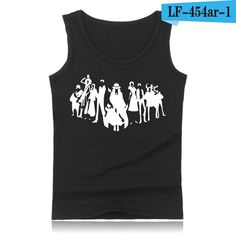 Anime One Piece Luffy And Ace Tank Top Summer Clothes Sexy Tank Tops Men Plus