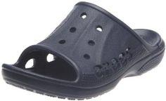 """Kid's crocs Sandals """"Baya Slide Kids"""" - Navy Footmarks Shoes. $9.99"""