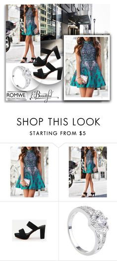 """""""ROMWE  4"""" by melissa995 ❤ liked on Polyvore"""