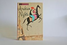 Arabian Nights and Aesop's Fables  Companion by ElisVintageFinds