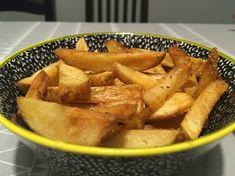 Ropogós éttermi sült krumpli házilag Apple Pie, Thai Red Curry, Sweet Potato, Potatoes, Chips, Vegetables, Ethnic Recipes, Desserts, Food