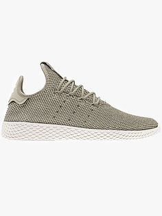 86741b77671ba The Adidas Originals PHarrell Williams Tennis HU Trainer In Tech Beige A  Collaboration From Adidas Originals