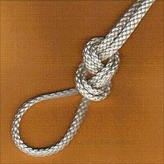 All about knots, knotting, cord, rope and paracord. From common knots to sailing knots and all knots in between. Project and Paracord resources. Loop Knot, The Knot, Rope Knots, Macrame Knots, Sailing Knots, Survival Knots, Knots Guide, Best Knots, Overhand Knot