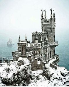 Swallow Nest Castle, Ukraine