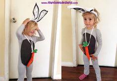 Disfraz de conejo largo. myvioletdesigns.com
