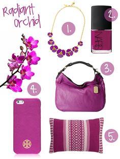 Pantone 2014: Radiant Orchid!