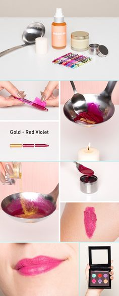 7 DIY Crayon Lipsticks to Make at Home - Inspire Beauty Tips