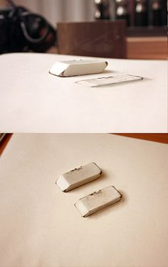 I dare you to draw an eraser this well.