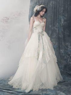 Vintage Princess Sweetheart Wedding Dress