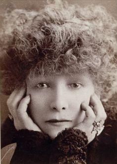Sarah Bernhardt (1844-1923), 1902 //  by W.& D. Downey