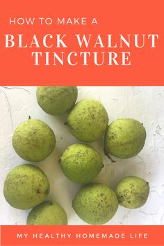 Not too familiar with black walnut as a home remedy? Then you'll definitely want to read today's post.  We've been testing black walnut at home for several months now to see if it does indeed heal cavities.  Learn how to Make a Black Walnut Tincture