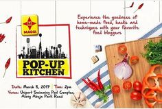 Welcome to MyCookery Zone Food Media| MAGGIs Pop Up Kitchen prepares to storm Uniport.  It's time for foodlovers in Portharcourt and it's environs to be a part of another edition of the Maggi's Pop Up kitchen.  This is going to be a platform for Nestle Nigeria makers of Maggi seasoning cube to engage with food enthusiast in the city of  Portharcourt to be precise Uniport.  The events will have everything from fit-fam recipes and classes with the coolest food bloggers thatll teach you how to…