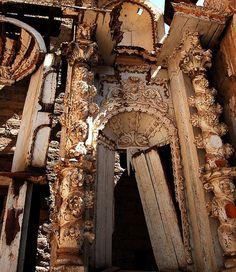 Old church Yauyos, Peru.....30 Altar Piece by lilacwhispers