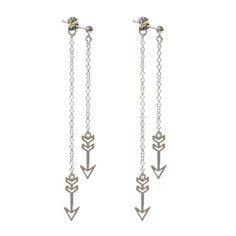 Kris Nations: Double Arrow Post Earrings