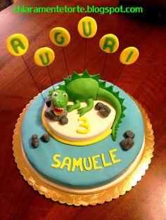 CHIARAmente...Torte!: Torta Dinosauro