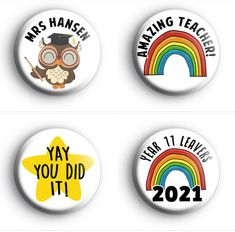 Our teacher, school and leavers badges were super popular this year! So we have been busy adding lots of new designs to the shop. Many of them can be customised at no extra cost. Thank you all for shopping small & supporting our handmade business
