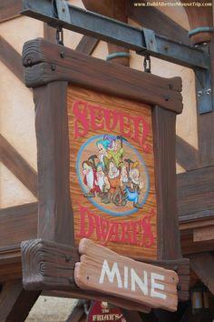 Seven Dwarfs Mine Train in Fantasyland at the Magic Kingdom in Disney World. Walt Disney World Orlando, Disney World Florida, Disney World Resorts, Disney Parks, Disney Day, Disney Nerd, Disney Theme, Disney Stuff, Magic Kingdom Rides