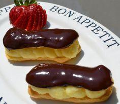 GF Chocolate Eclairs == Celiac & Allergy Friendly Epicurean