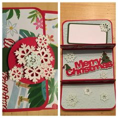 Double gift card holder