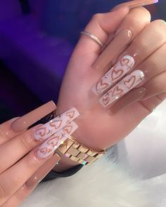 Drip Nails, Bling Acrylic Nails, Simple Acrylic Nails, Summer Acrylic Nails, Best Acrylic Nails, Rhinestone Nails, May Nails, Nails Today, Cute Acrylic Nail Designs